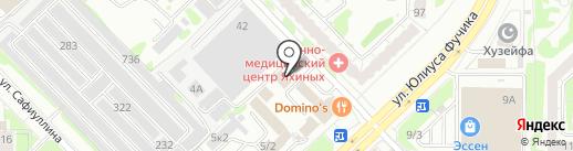 GRASS на карте Казани