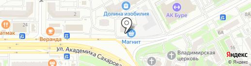 Смешные цены+ на карте Казани
