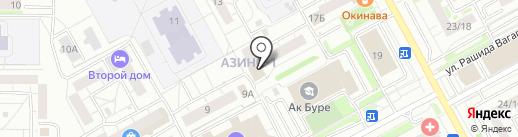 Rodnik на карте Казани