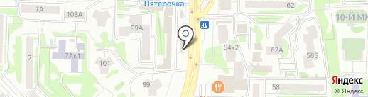 МегаДым на карте Казани