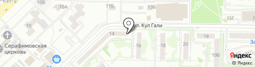 Магазин разливных напитков на карте Казани
