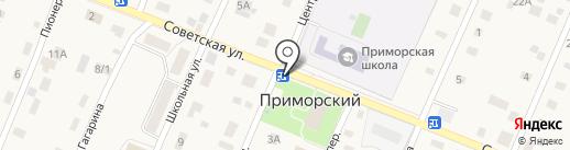 Роспечать на карте Приморского