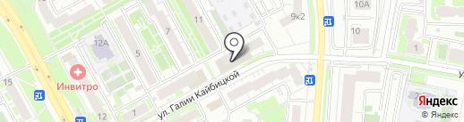 ПИВЗОНА на карте Казани