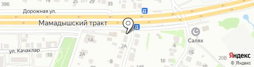 Шашлычная лавка на карте Казани
