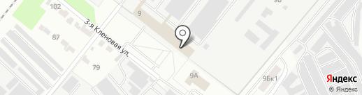 Транспортная фирма на карте Казани