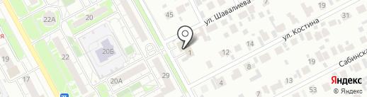 Дея филичи на карте Казани