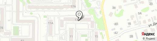 Эвакуатор-116 на карте Казани