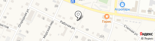 Техно-Кад на карте Приморского