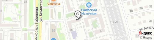 Стройхан на карте Казани