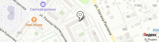 Цветной бульвар на карте Казани