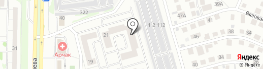 Velvet на карте Казани