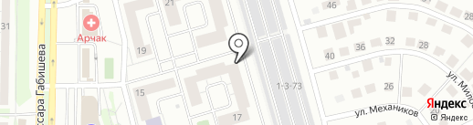 ПОЛИГЛОТИКИ на карте Казани