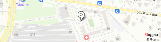 Эль на карте Казани