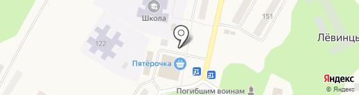 Парус на карте Лёвинцев