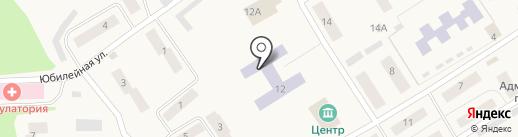 Стрижевская средняя школа на карте Стрижей