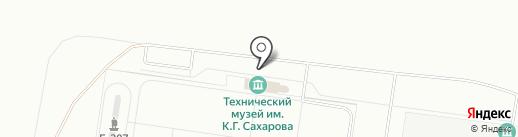 Тольяттинский сувенир на карте Тольятти
