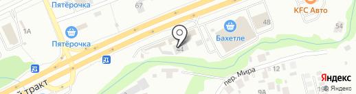 Автоснаб-Маркет на карте Казани
