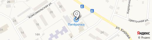 Стрижевское кооперативное предприятие на карте Стрижей