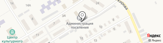 Стрижевская поселковая дума на карте Стрижей