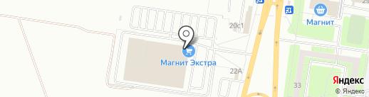 Фаббрис на карте Тольятти