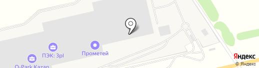 Деловые Линии на карте Столбища