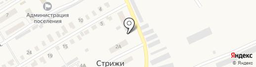 Сбербанк, ПАО на карте Стрижей
