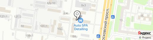 Станция кузовного ремонта на карте Тольятти