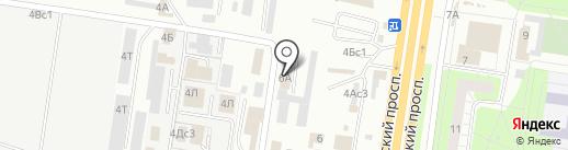 Топконтур Дизайн на карте Тольятти