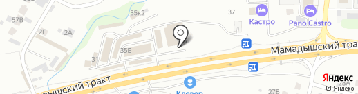 Центр Металлокровли на карте Казани