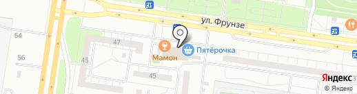 Аварком Волга на карте Тольятти