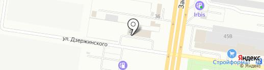 ПАРТЕК на карте Тольятти