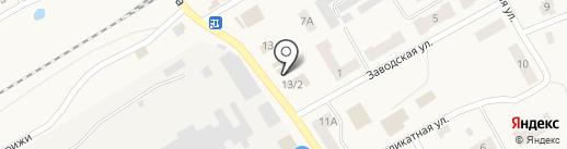 Находка на карте Стрижей
