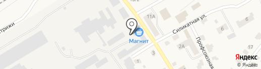 Магнит на карте Стрижей