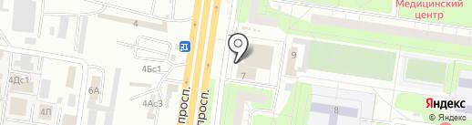 Магазин посуды и хозяйственных товаров на карте Тольятти
