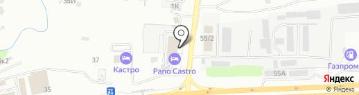 Эвакуатор24 на карте Казани