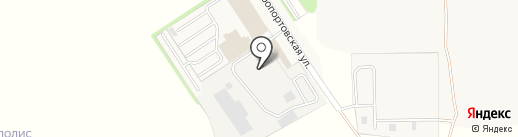 Автокомплекс на карте Столбища