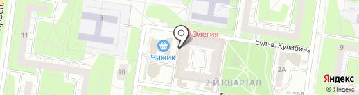 Парикмахерская для мужчин на карте Тольятти
