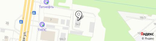 ИнтерПолимер на карте Тольятти