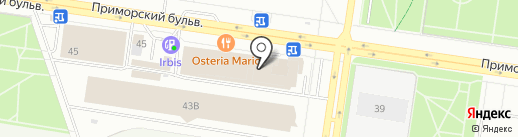 ЛВМ-Строй на карте Тольятти