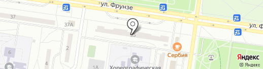 Кэнка на карте Тольятти