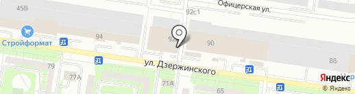 БИТ.com на карте Тольятти