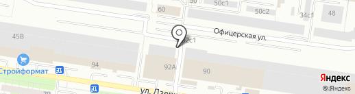 Люкс на карте Тольятти