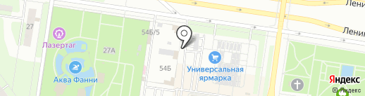 ДОМСТРОЙ на карте Тольятти