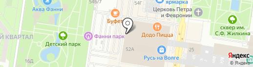 Дальний Восток на карте Тольятти