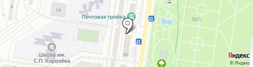 Ле Кар на карте Тольятти