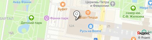 FRANTS collection на карте Тольятти