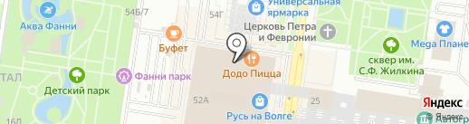 Pickpoint на карте Тольятти