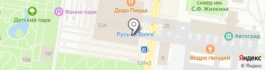 Futon на карте Тольятти