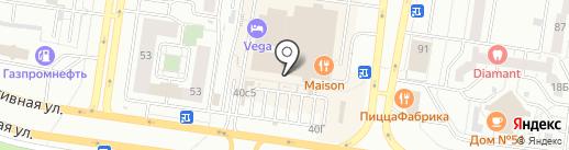 Пекариум на карте Тольятти
