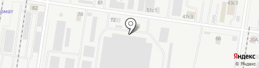 Ирэ Аутомотив Рус на карте Тольятти